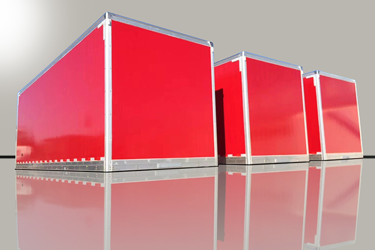 Thermoplastic Panel Container for Dry Freight Body